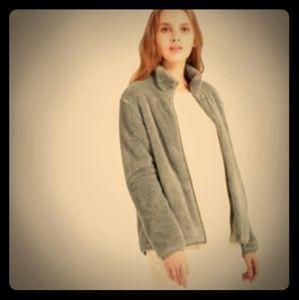 Stretch Uniqlo Women's Fluffy Yarn Fleece Full-Zip